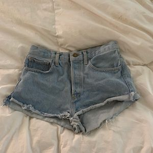 John Galt High waisted shorts